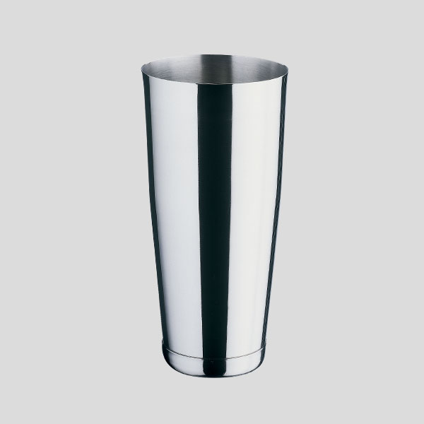 BOSTON SHAKER IN ACCIAIO INOX - diam. 9,2 cm - CAPACITA  900 ml