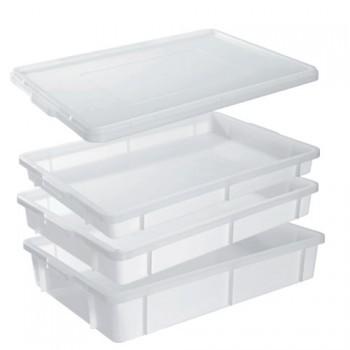 Contenitori in plastica con coperchio per alimenti - Alimenti per andare in bagno ...