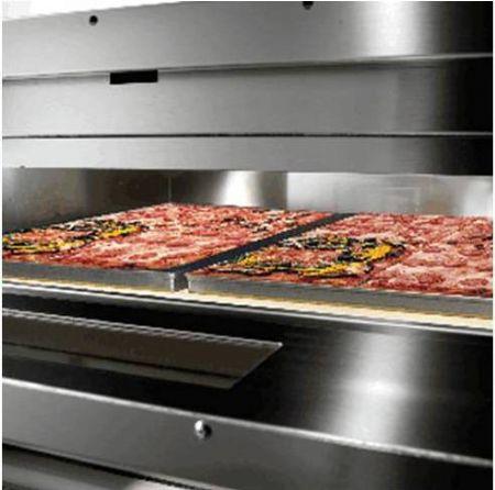 Forno elettrico per pizza vesuvio sirman camera cottura 105x70 forni pizzeria elettrici - Forno elettrico per pizze ...